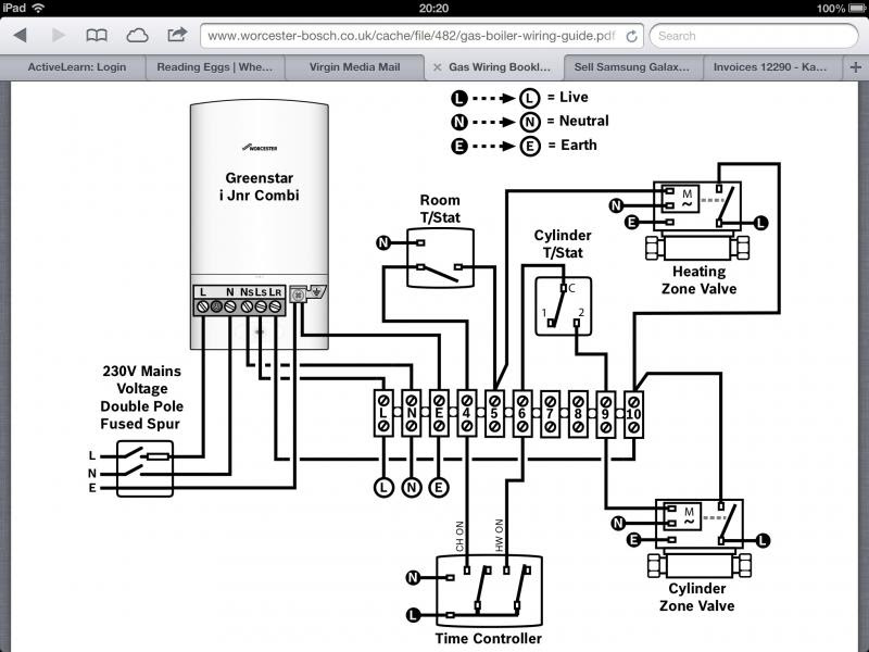 Room Thermostat Wiring Diagram