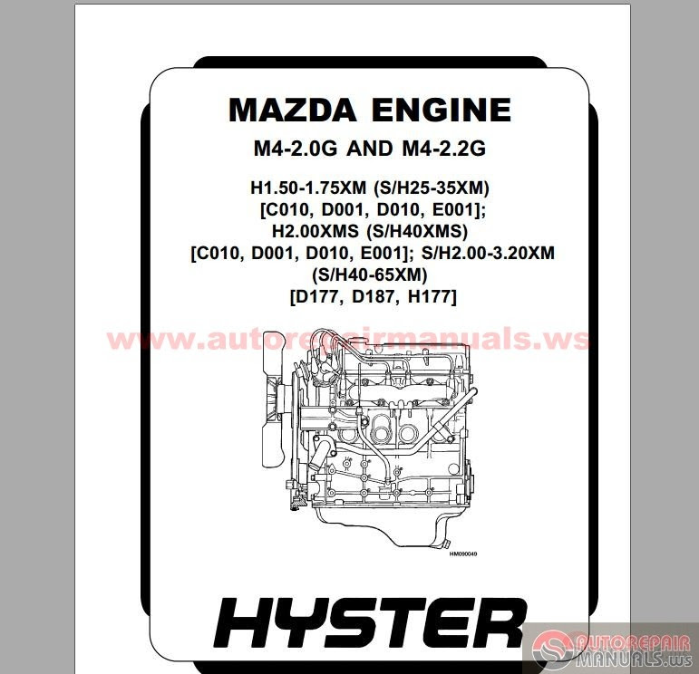 Auto Repair Manuals: Hyster Forklift Parts and Service