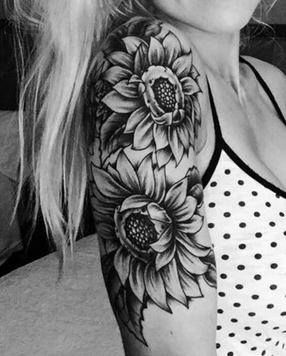 Girls Upper Arm Tattoos : girls, upper, tattoos, Upper, Tattoo, Female, Design