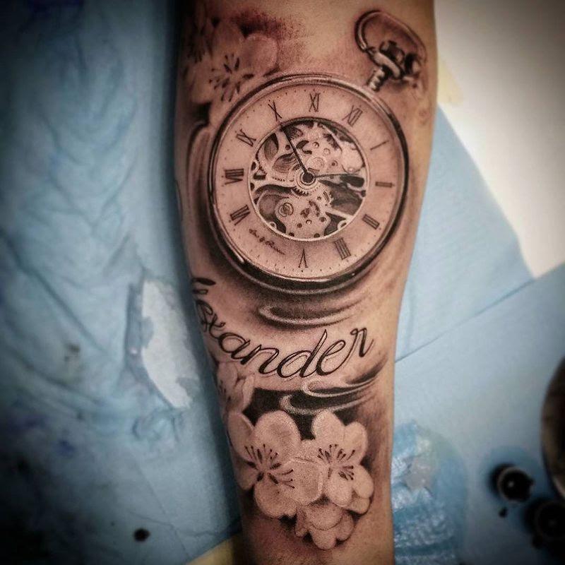 Reloj De Bolsillo Tatto Guatelinda