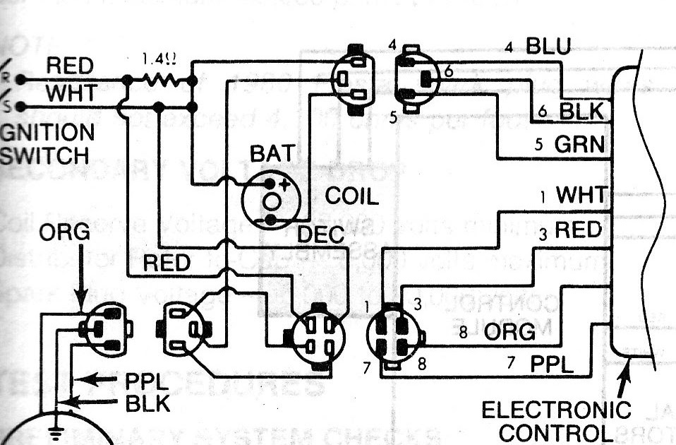 Ford Ignition Control Module Wiring Diagram : No spark