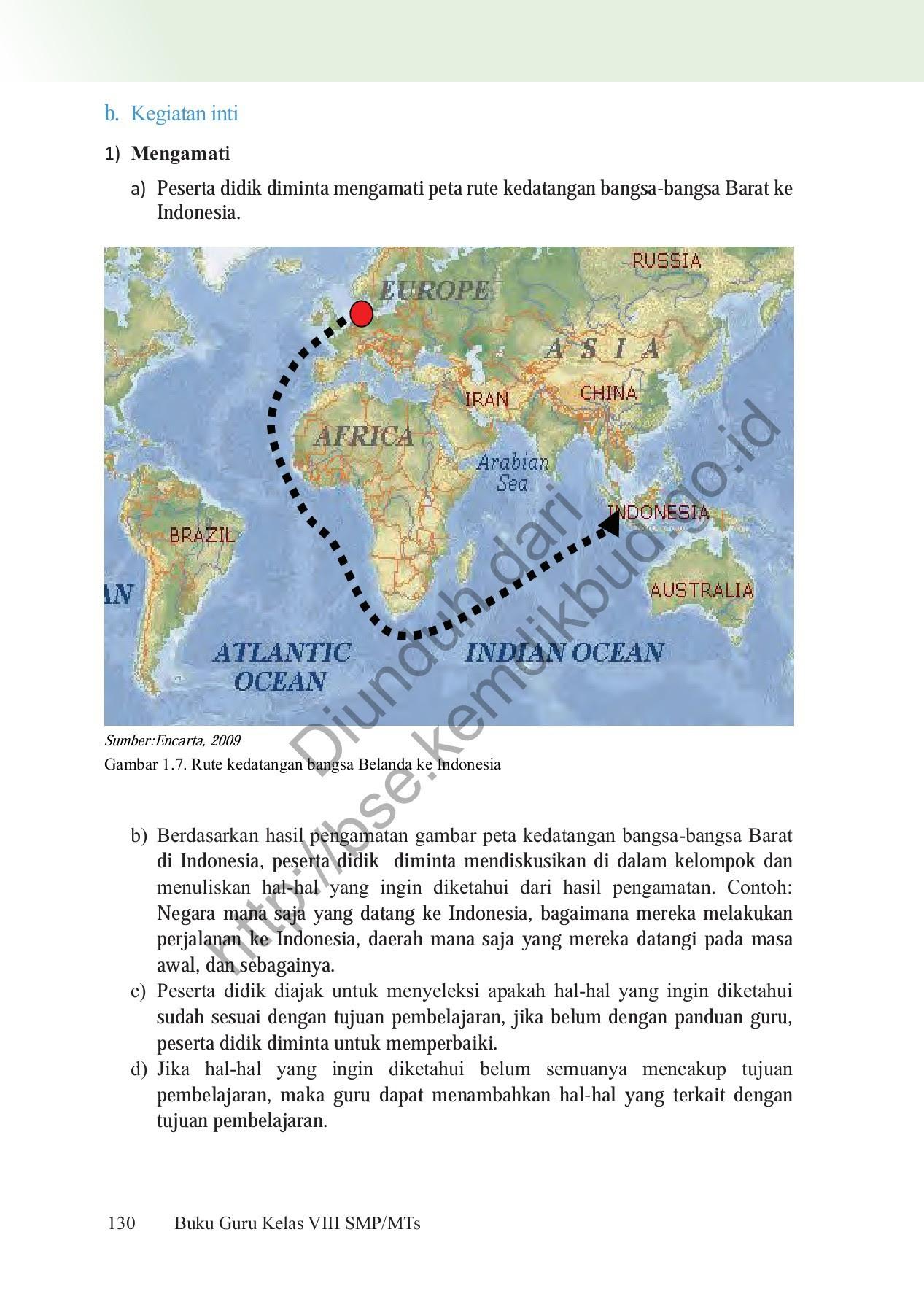 Rute Kedatangan Bangsa Belanda Ke Indonesia : kedatangan, bangsa, belanda, indonesia, Indonesia:, Kedatangan, Bangsa, Eropa, Indonesia