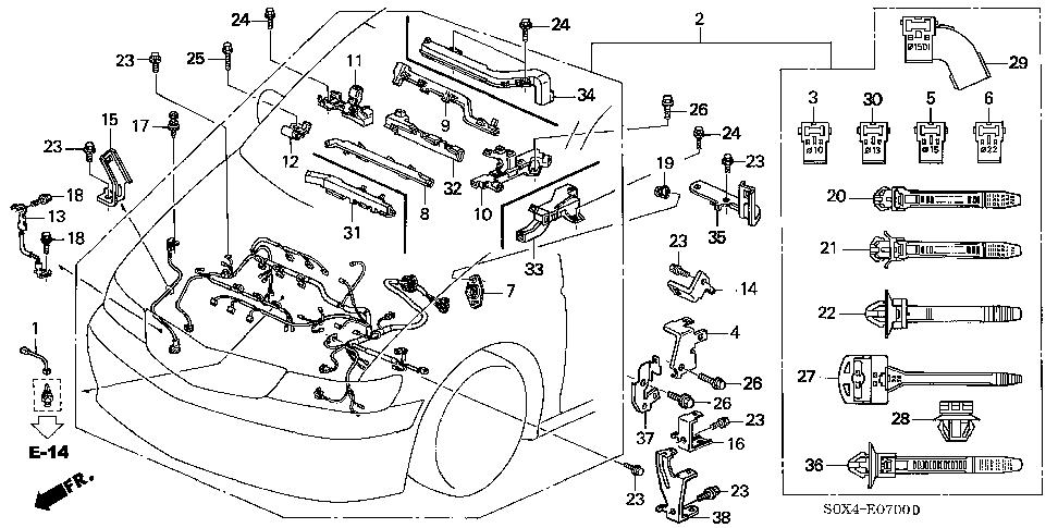 2008 Honda Cr V Parts Manual