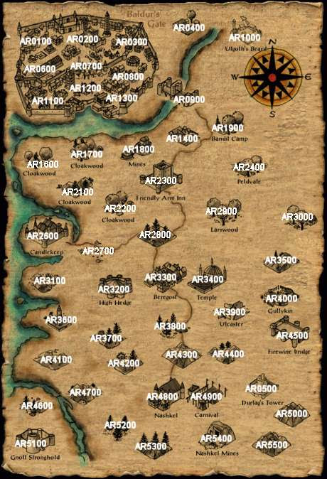 Baldur's Gate Enhanced Edition World Map : baldur's, enhanced, edition, world, Baldurs, Enhanced, Edition, World, Maping, Resources