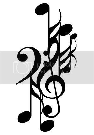 Most Recent Tattoo and Body Piercing Pictures: music