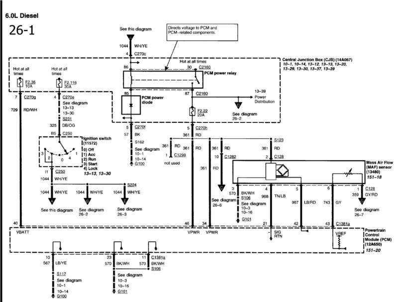 01 Ford Taurus Radio Wiring Diagram