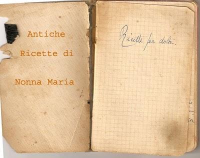 Mollica di Pane Dal quaderno di Nonna Maria marmellata