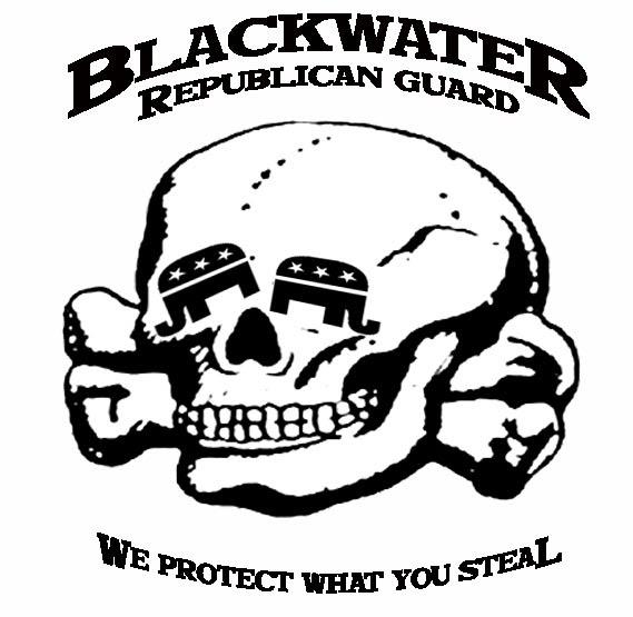 Professor Smartass: Blackwater mercenary logo contest: my
