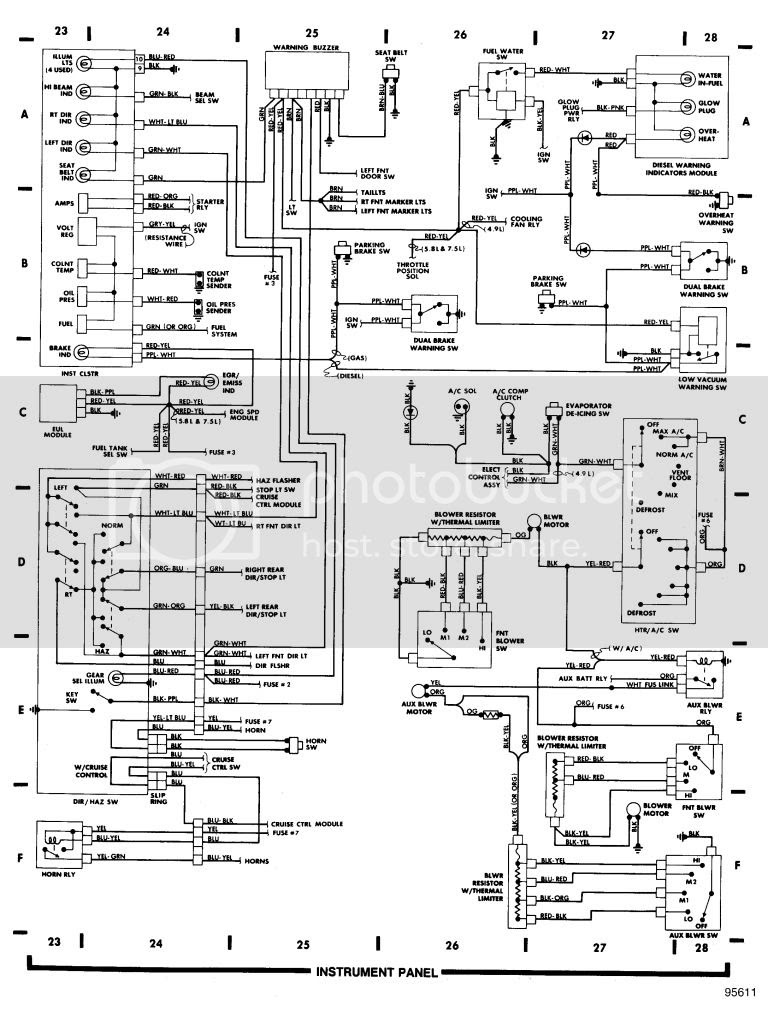 Ford E350 Van Diagram