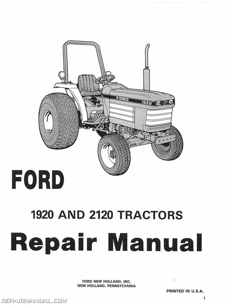Wiring Diagram: 32 Ford 2120 Tractor Parts Diagram