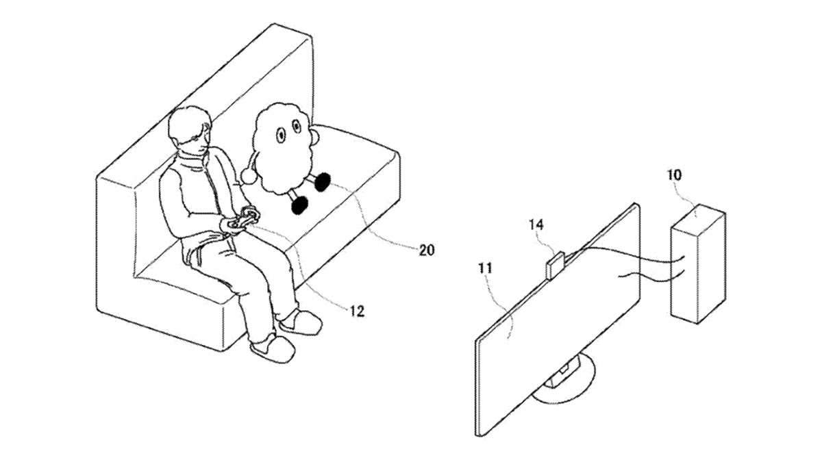 Sony patents a cute robot for keeping you company while