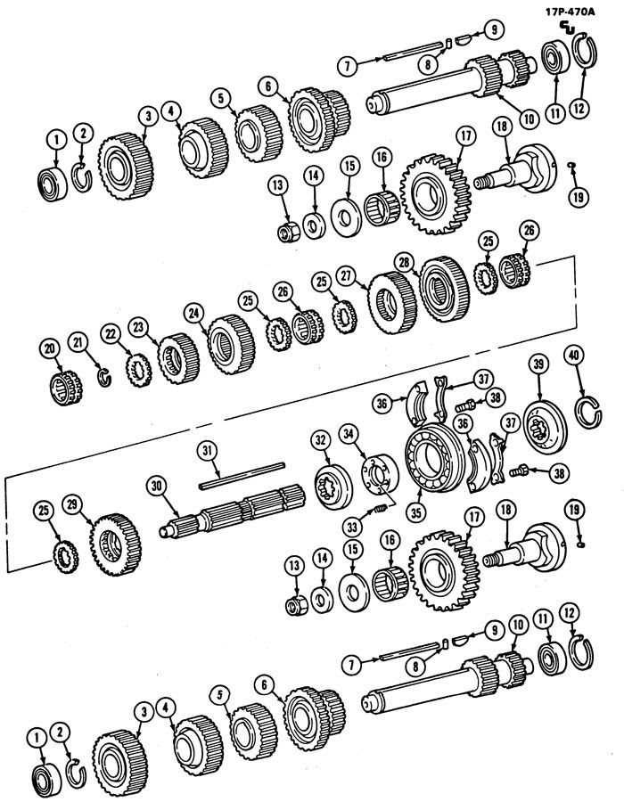 Wiring Diagram: 32 Eaton Fuller 13 Speed Parts Diagram