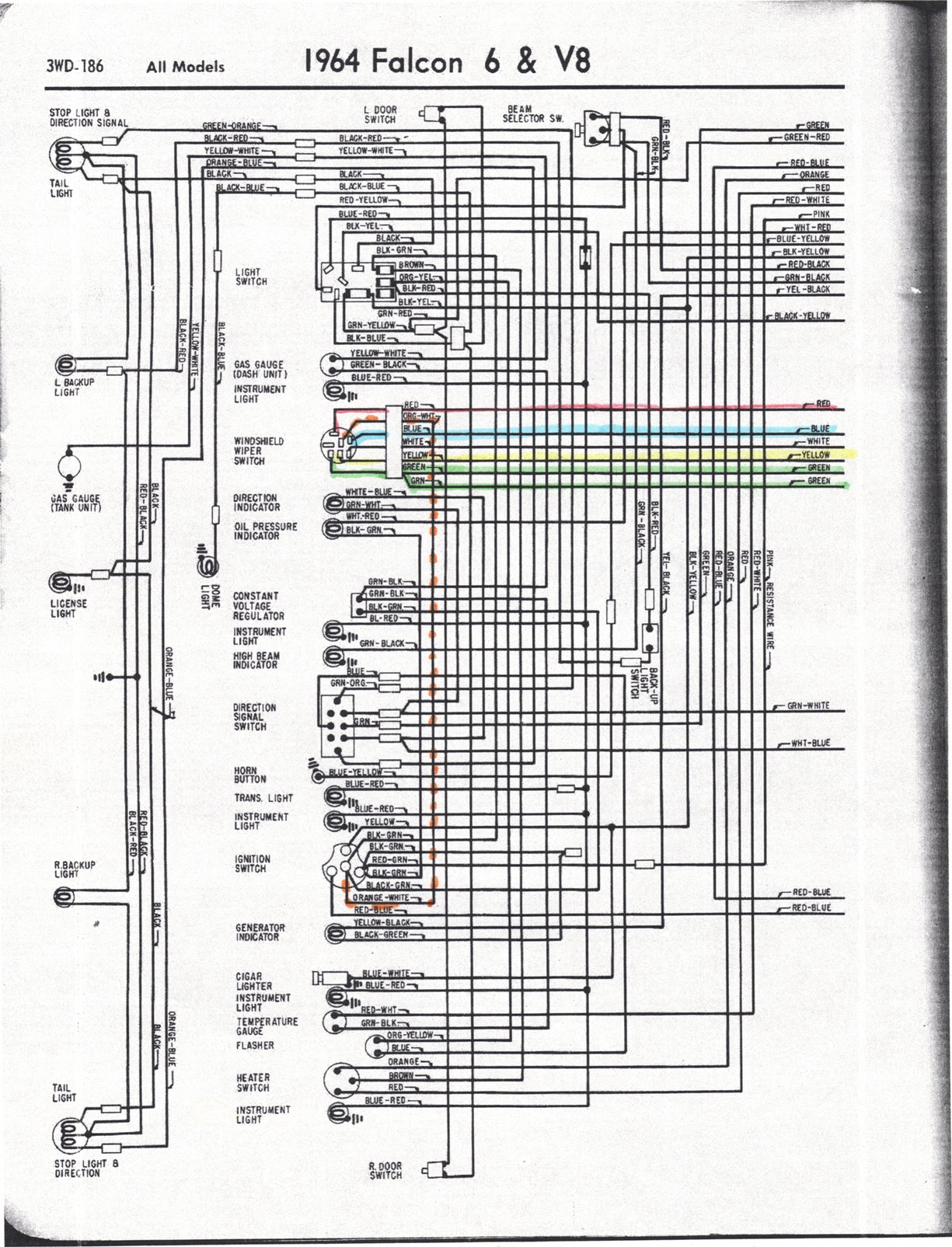 1963 Ford Wiring Diagram