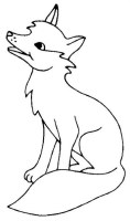 Malvorlage Fuchs Einfach   Ausmalbilder Fuchs Kostenlos ...