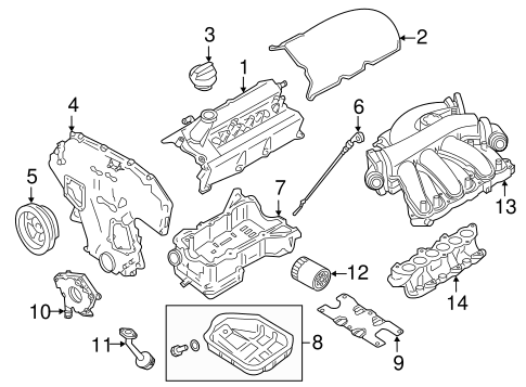Nissan Altima Engine Parts