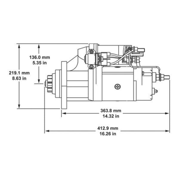 Mack Mp8 Starter Wiring Diagram : MACK MP8 Engine Assembly