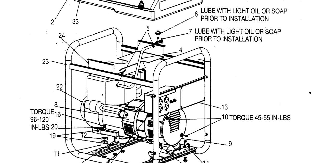 Autosportswiring: Honda Ex1000 Generator Wiring Diagram