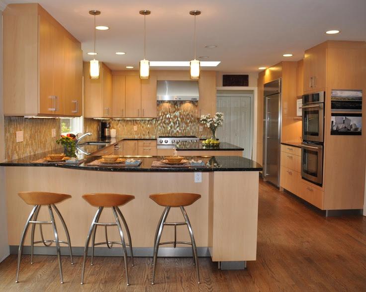 33 gorgeous kitchen peninsula ideas