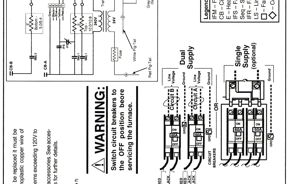 Mobile Home Intertherm Electric Furnace Wiring Diagram