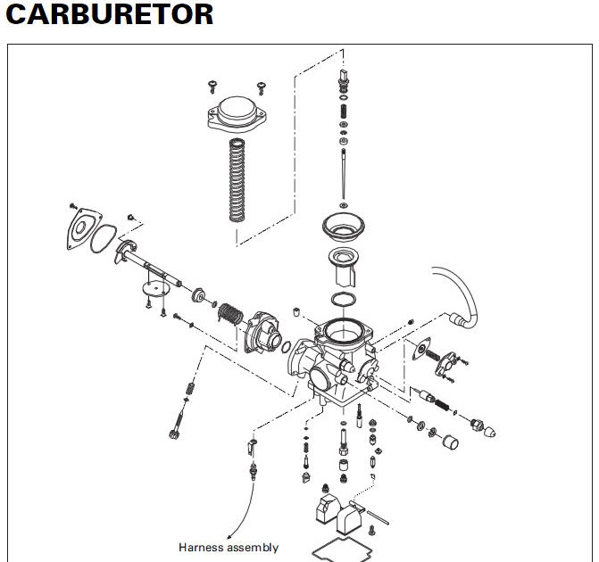 Arctic Cat 400 Carburetor Adjustment