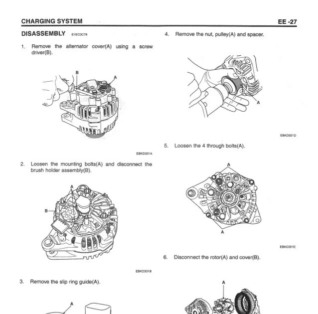 Brush Alternator Wiring Diagram