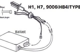 Xenon Hid Wiring Diagram / Denso Koito D4s D4r Xenon Hid