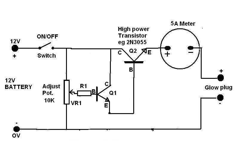 Typical Glow Plug Wiring Diagram