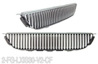 Grille & Brush Guards: 2001-2005 Lexus IS300 Vertical