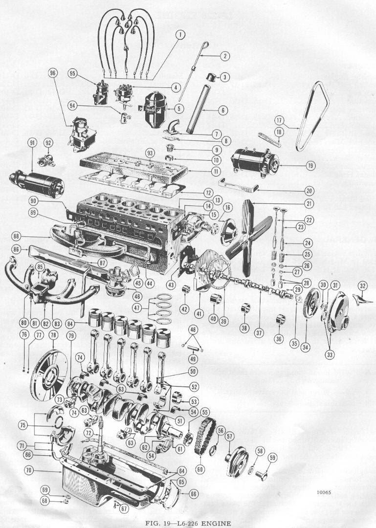 Rebuilding A F 134 Hurricane Engine