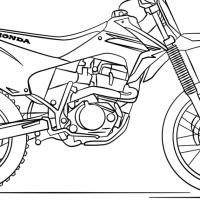 Ausmalbilder Motorrad Kawasaki