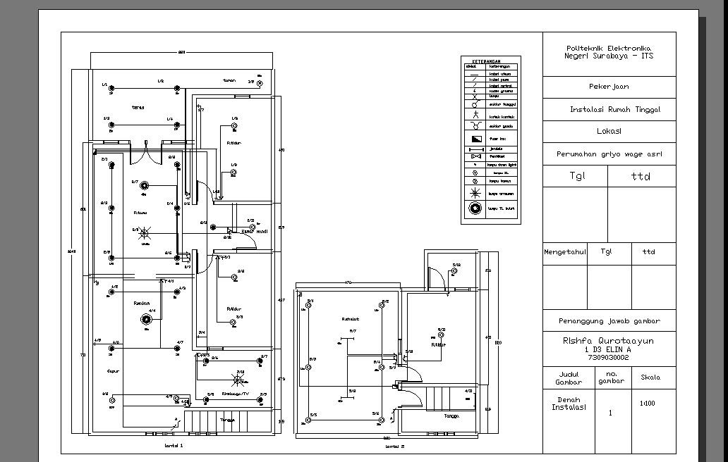 Wiring Lampu Auto Electrical Wiring Diagram