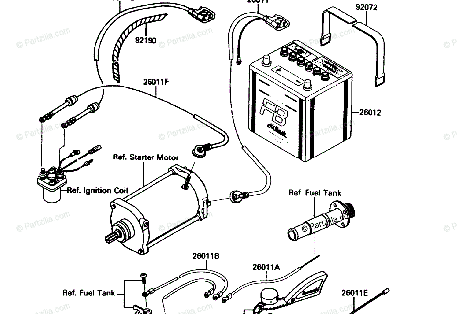 Kawasaki Jet Ski Engine Diagram