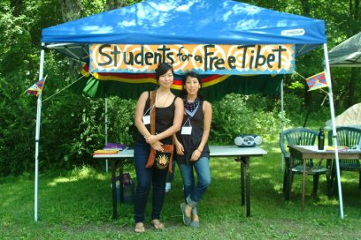Me & Kunsang at Free Tibet! Action Camp (2010)