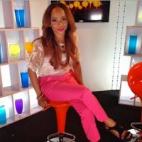 Toke Makinwa on set of her new TV show(PHOTOS)