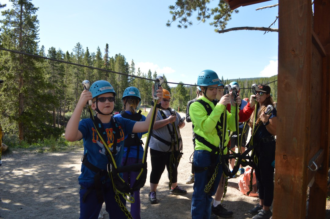 GRADS Ziplining Adventure