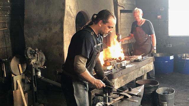 Mathieu Collette, forgeron fondateur des Forges de Montréal