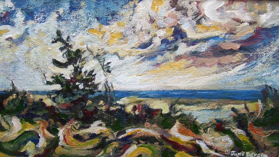 June Deveau paysage