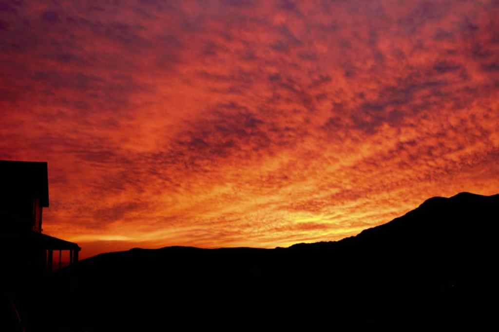 un coucher de soleil pour une demande en mariage à Saint-Pierre et Miquelon