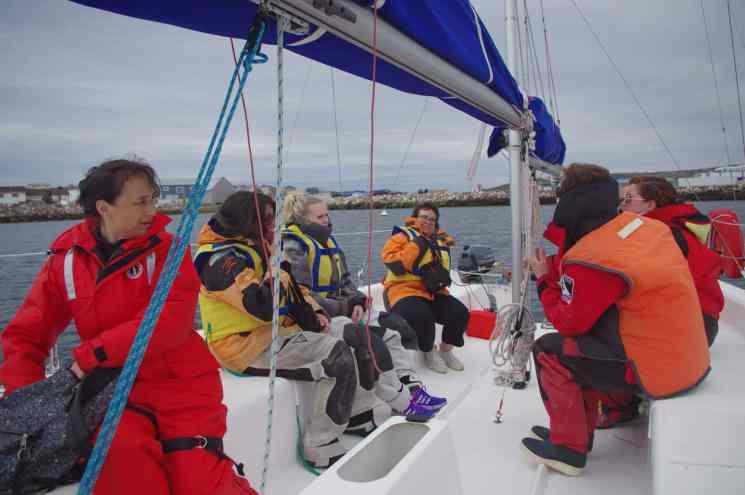Sortie en mer, voilier, que faire à Saint-Pierre et Miquelon