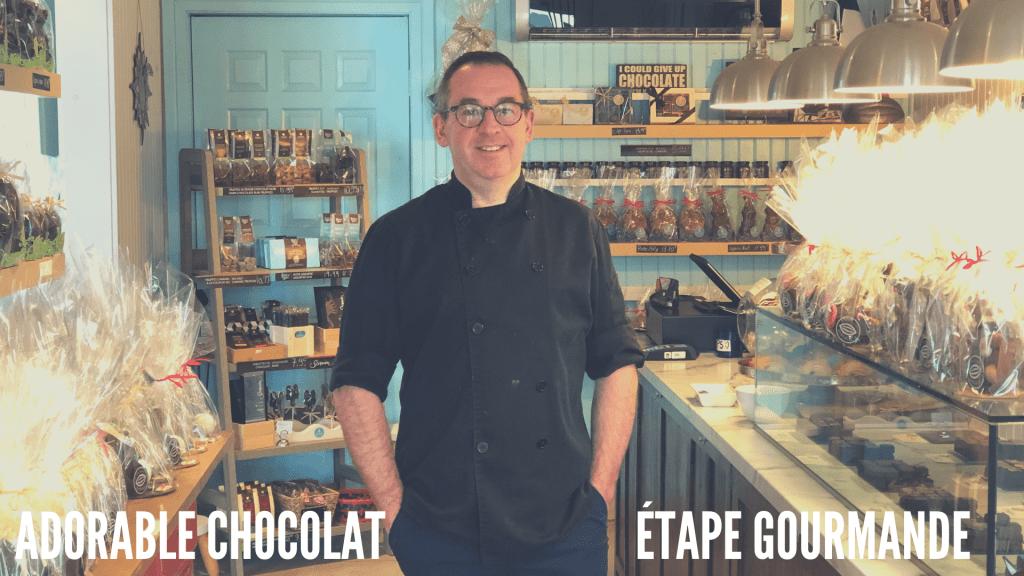 Adorable chocolat Etape gourmande