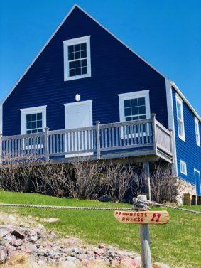 La belle maison bleue
