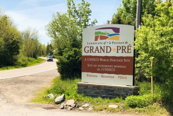 panneau routier Grand Pré