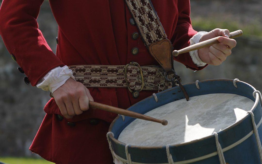 tambour de la forteresse de Louisbourg