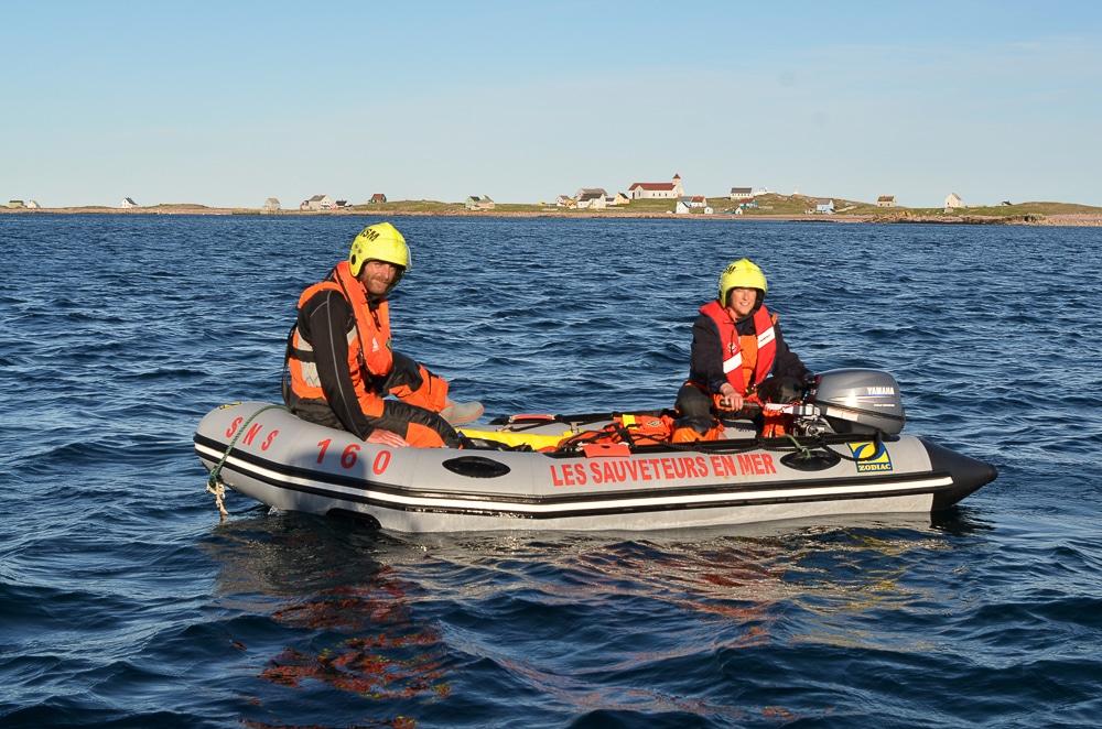 SNSM Saint-Pierre et Miquelon l'annexe du Jaro 2