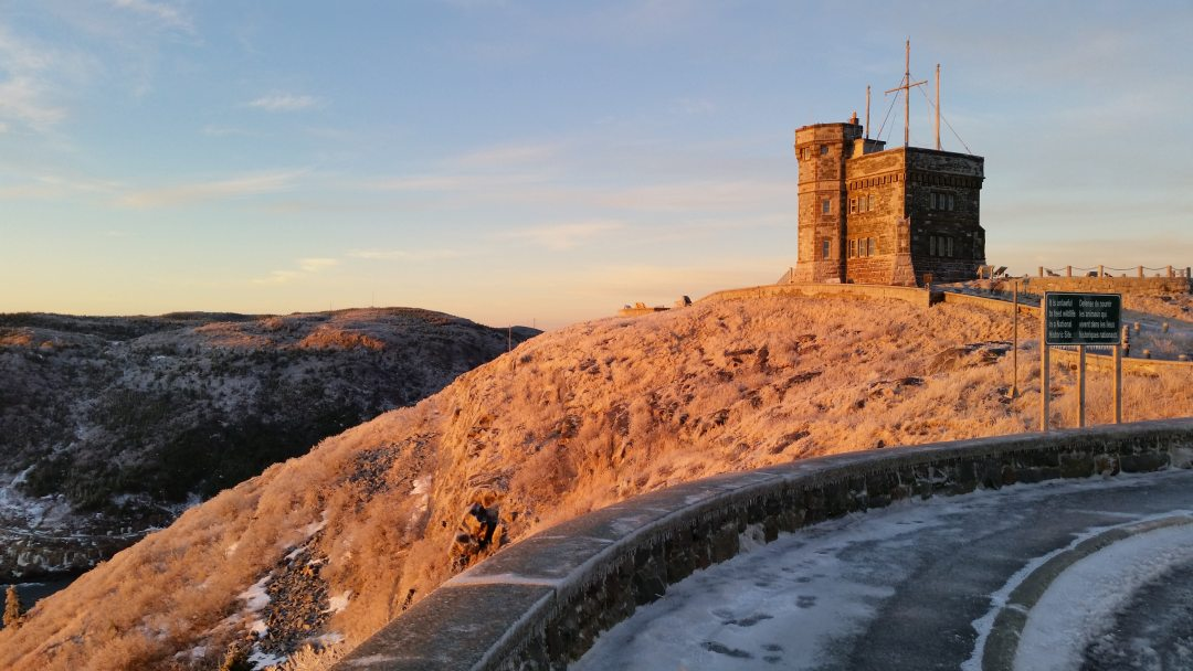 vivre à Terre-Neuve Signal Hill et la Tour Cabot à Saint-Jean de Terre Neuve