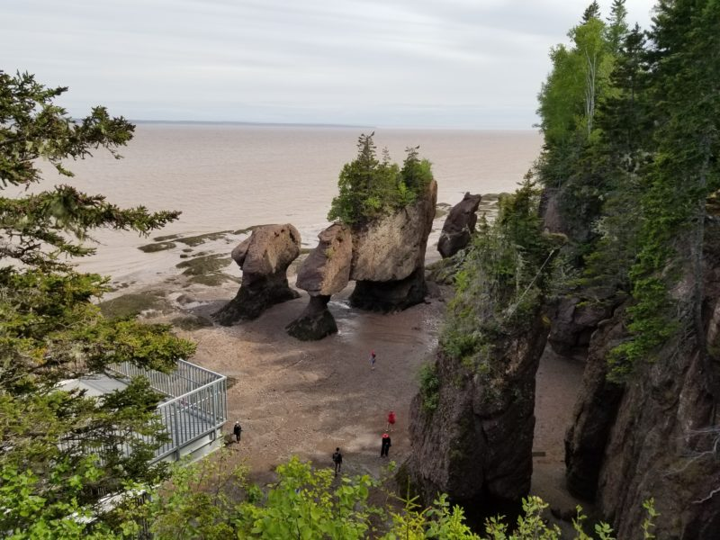 Marées de la Baie de Fundy