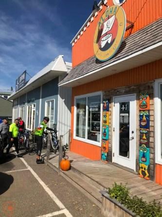 vélo péninsule acadienne