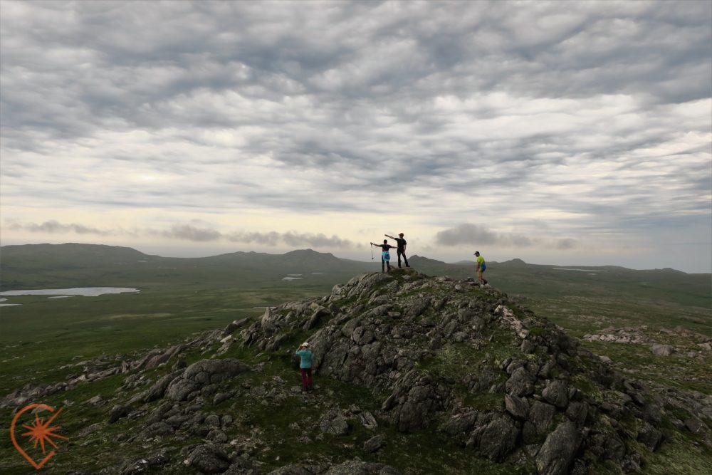 Le morne de la Grande Montagne à Miquelon