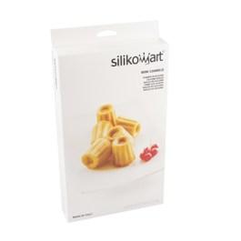 Moule silicone 18 mini-cannelés 3,5 cm