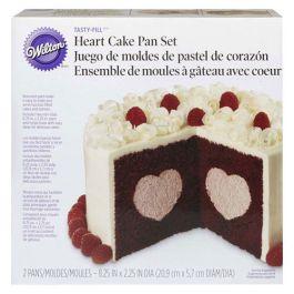 Kit moule à gâteau avec coeur